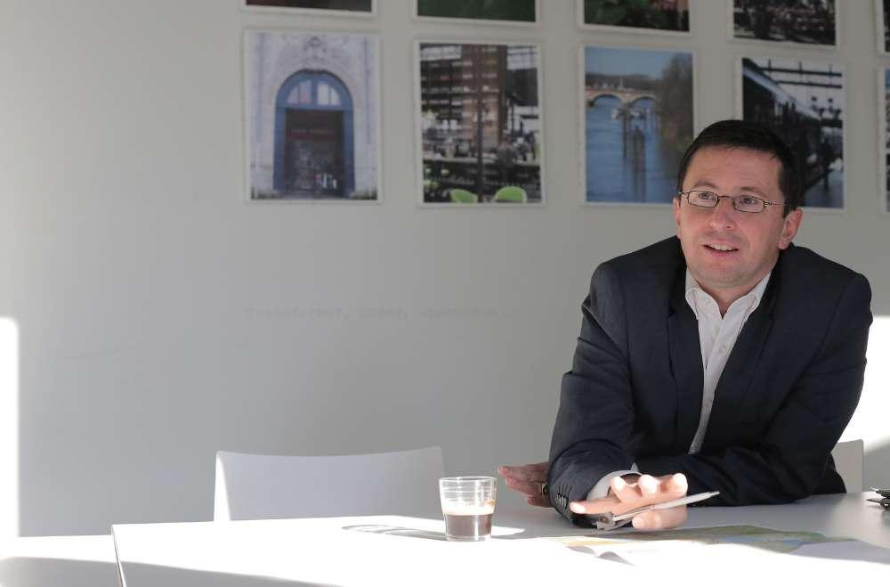 Stéphan de Faÿ, directeur d'Euratlantique