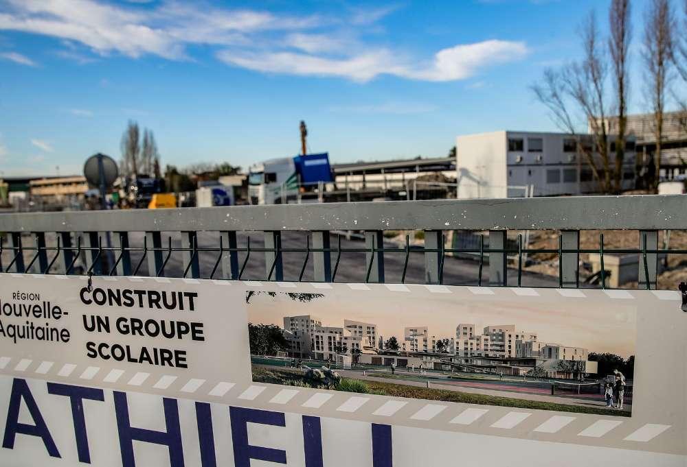 construction groupe scolaire Bordeaux Belvédère